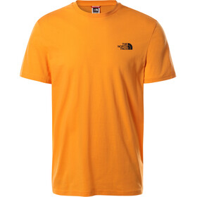 The North Face Simple Dome Maglietta a maniche corte Uomo, light exuberance orange